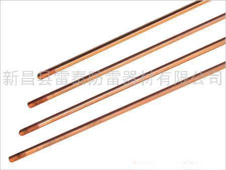电镀铜接地极,电镀铜包钢接地极,铜包钢接地棒,铜包钢接地极厂家
