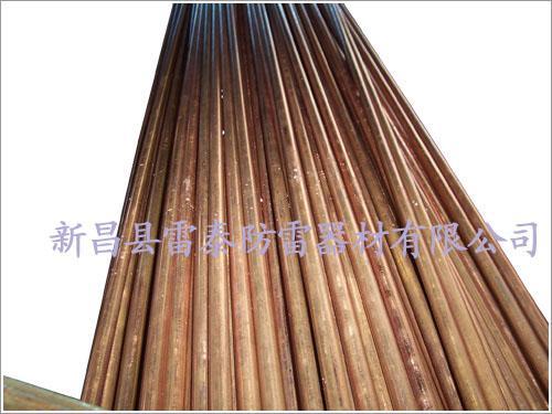 供应绍兴生产铜包铁接地棒公司,电镀铜包钢接地极,铜包钢接地棒