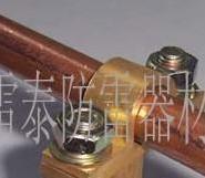 铜包钢接地棒连接电线线夹图片