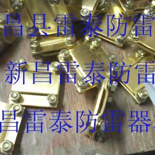 防雷铜带线夹一字夹十字夹图片