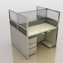 供应望屏风办公桌拆装职员椅职员桌订做图片