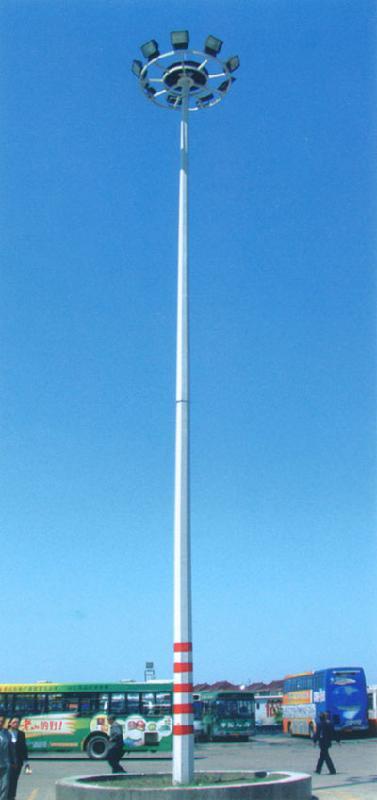供应升降式高杆灯 上海亚明投光灯 亚明高压钠灯 亚明金卤灯