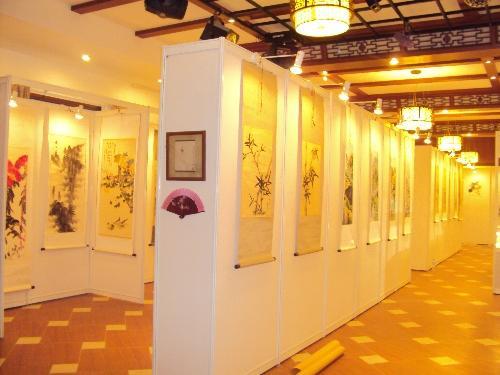 北京书华展览出租挂画展板销售