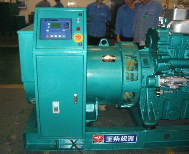 广西百色560KW玉柴柴油发电机