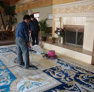广州东站洗地毯公司图片