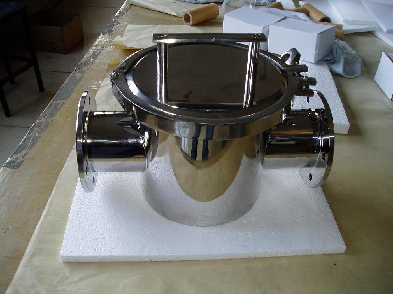 供应巧克力专用管道式除铁器(加保温装