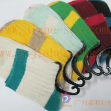 供应女羊毛袜短筒横条羊毛袜袜子供应