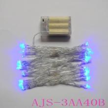 供应LED灯串电池盒,LED装饰灯串,电池盒灯串