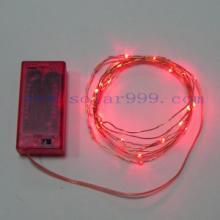 供应电池盒LED灯串 铜线灯串 铜丝灯串 圣诞灯串 装饰灯串电池