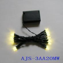 供应电池盒LED灯串,圣诞灯串,装饰灯串,LED星星灯