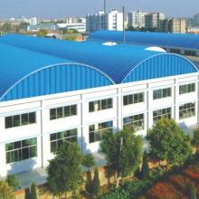 供应空间开阔的拱形波纹钢屋盖批发