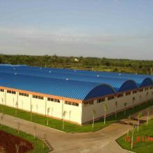 供应湖北信立合钢结构无梁拱形屋顶  冷弯薄壁型钢结构拱形屋顶批发