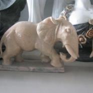 西安市晚霞红大象石雕/各种大象雕图片