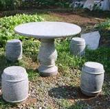 供应金昌市石凳石桌雕塑/各种茶几石雕/园林石凳雕塑