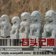 晋城市汉白玉石狮雕塑/园林动物雕图片