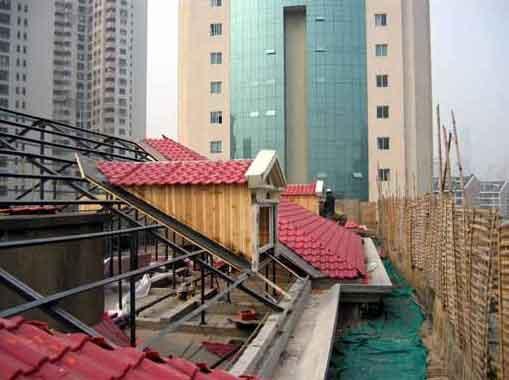 平改坡钢结构工程设计