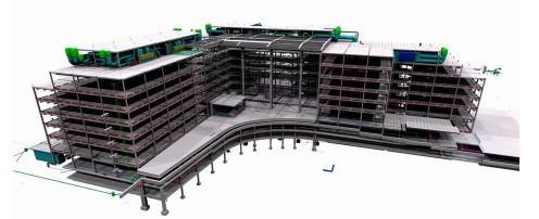 多层商业钢结构设计
