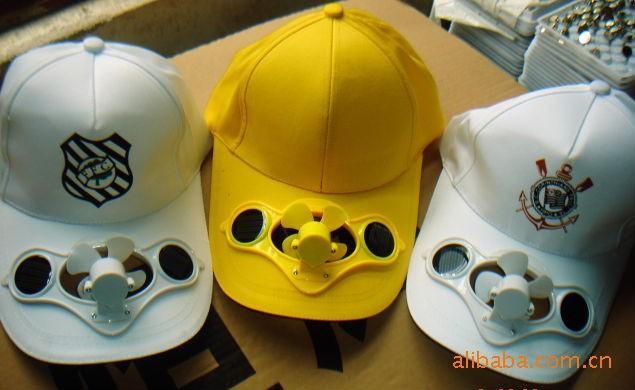 供应厂直销hh8934太阳能风扇帽