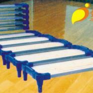 新型儿童重叠木条床不带钢条图片