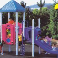 幼儿园美式玻璃钢滑梯玩具批发图片
