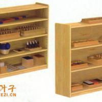 供应儿童家具之水曲柳蒙氏/玩具柜