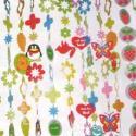 幼儿园卡通装饰挂帘批发图片