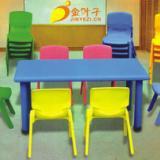 供应重庆幼儿园课桌之人体工学桌椅