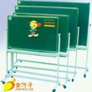 重庆黑板厂磁性移动翻转黑板批发图片