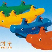 供应塑料鲸鱼鳄鱼摇马,幼儿园组合玩具,幼儿园双人摇马