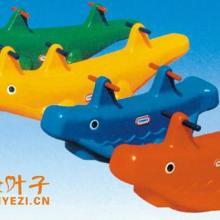 供应重庆教学玩具塑料鲸鱼鳄鱼摇马批发