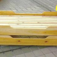 木制幼儿重叠床销售图片