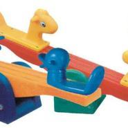 小鸭小马跷跷板图片
