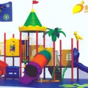 幼儿园工程塑料组合滑梯图片