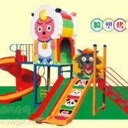 喜洋洋与灰太狼组合滑梯玩具图片