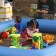 重庆充气沙水池装沙池批发图片