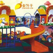 幼儿园玻璃钢组合滑梯-康乐2型图片