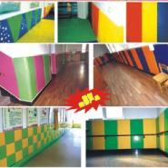 幼儿园安全软体护墙图片