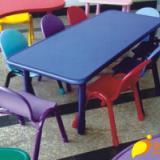 供應重慶幼兒園六人座桌子長方形桌子