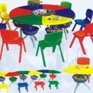 幼儿园多变课桌拼搭宝贝价格图片