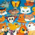 幼儿园儿童卡通头饰挂图图片