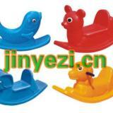 供应儿童单人摇马、重庆儿童摇马批发价格、儿童跷跷板摇马