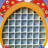 供应幼儿园木制口杯架