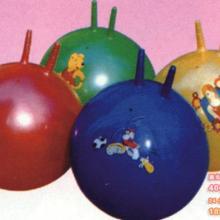供应幼儿园用品室内玩具之羊角球批发