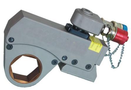薄型中空型液压扳手超薄中空式液压扭矩扳手图片