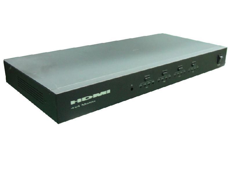 矩阵图片 矩阵样板图 HDMI矩阵四个输入四个输出 深圳市塞...