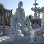 石雕雕塑人物现代人物古代人物图片