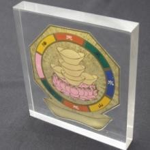 供应水晶胶摆件摆饰饰品内嵌内埋工艺品图片