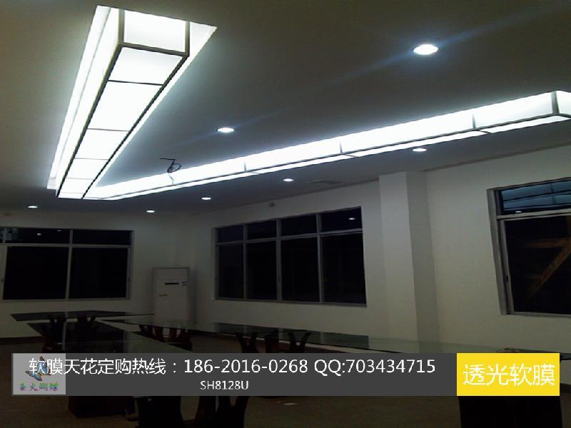 供应pvc天花软膜白色软膜灯吊顶发光膜吊顶