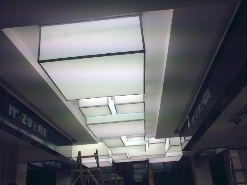 供应广州透光膜 广州发光软膜 白色透光灯箱膜