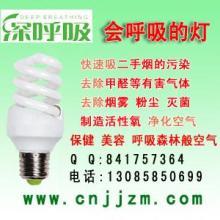 供应节能灯负离子节能灯深呼吸空气净化灯节能灯厂家